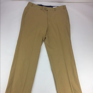 Hiltl Contemporary Fit Trousers Gold 36x30
